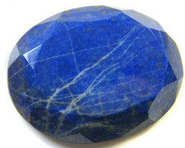 67.70 CTS LAPIS LAZULI OVAL FACETED STONE AG 1539