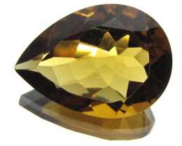 9.55 CTS CERTIFIED YELLOW CITRINE 0704