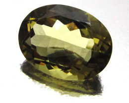 18.17 CTS CERTIFIED GOLDEN OLIVE YELLOW CITRINE 0708