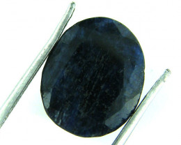 7.50 CTS NATURAL METALLIC SHEEN BLUE SAPPHIRE STONE SGS 152