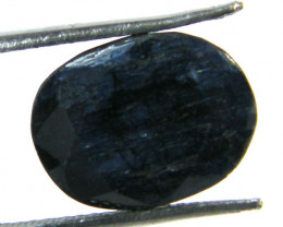 8.35 CTS NATURAL METALLIC SHEEN BLUE SAPPHIRE STONE SGS 295