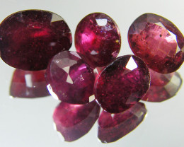 6.30 CTS PARCEL BLOOD RED RUBIES RM 366
