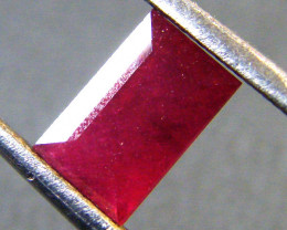 1.35 CTS F/S CRYSTAL CLEAR VS GRADE SPARKLING REDRUBY  RM 297