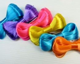 PARCEL DEAL SIX QUALITY KOREAN HAIR CLIPS QT 538