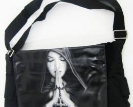 GOTHC PRAYER MESSENGER BAG  ANEE STOKES QT 553