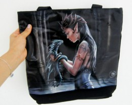 WATER DRAGON TOTE BAG BY ANNE STOKES