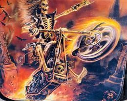 HALLOWEEN Hell rider Messenger Bag  QT554