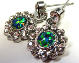STUNNING  OPAL EARRINGS  CSS 123