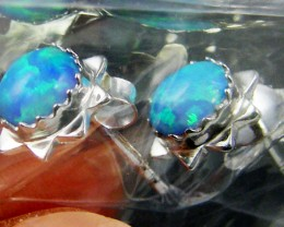 TRADE DEAL 3 OPAL SILVER EARRINGS  MYT 272