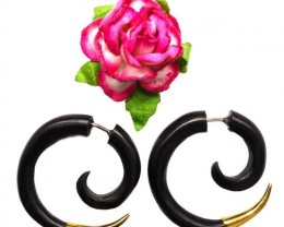 Good Life Spirals, Fake Gauges, Black Sono Wood