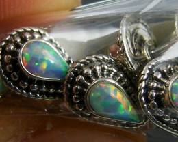 TRADE DEAL4 IMO OPAL SILVER EARRINGS  MYT 282