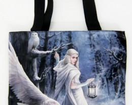 MIDNITE MESSENGER TOTE BAG BY ANE STOKES QT 552