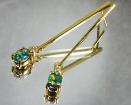 FASHION  IMO OPAL EARRINGS GTT 1093