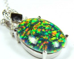 FASHION OPAL PENDANT CJ 1626