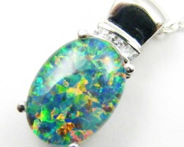 FASHION OPAL PENDANT CJ 1628