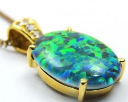 FASHION OPAL PENDANT CJ 1635