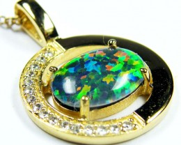 FASHION OPAL PENDANT CJ 1644