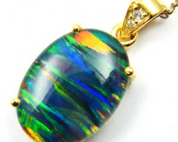 FASHION OPAL PENDANT CJ 1655