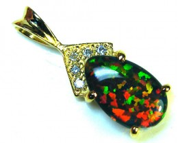 BRIGHT OPAL FASHION  PENDANT    ML549