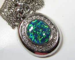 ATTRACTIVE OPAL PENDANT CSS 118
