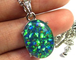 ATTRACTIVE OPAL  FASHION PENDANT CSS 172