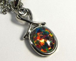ATTRACTIVE OPAL  FASHION PENDANT CSS 187