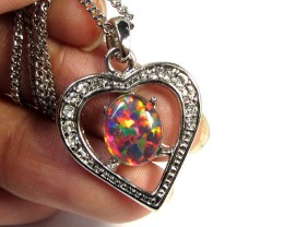 ATTRACTIVE OPAL  FASHION PENDANT CSS 184