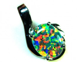 BEAUTIFUL BRIGHT  OPAL PENDANT      ML550