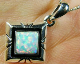 IMO OPAL   STERLING SILVER PENDANT    MYT638
