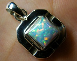 IMO OPAL   STERLING SILVER PENDANT    MYT639