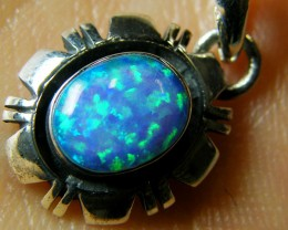 IMO OPAL   STERLING SILVER PENDANT    MYT646