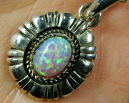 IMO OPAL   STERLING SILVER PENDANT    MYT647