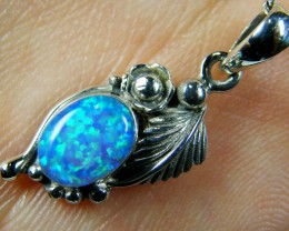 IMO OPAL   STERLING SILVER PENDANT    MYT642