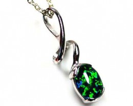 BEAUTIFUL BRIGHT FASHION OPAL PENDANT MYJA 910