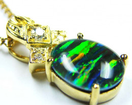 BRIGHT FASHION OPAL PENDANT  MYJA 965
