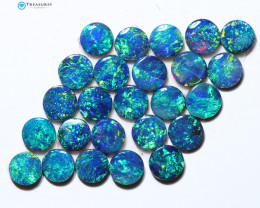 4.21Cts Parcel Australian Coober Pedy Opal Calibrated Doublet   CH320