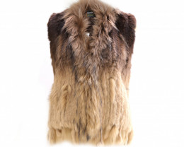 RABBIT & FOX FUR VEST #