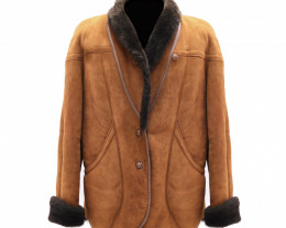 Canterbury Shearling Jacket With Patch Pockets