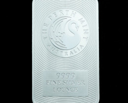 Pure Silver .9999  Perth Mint Kangaroo Bar