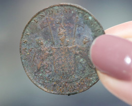 ONE Shipwreck Copper Coin From 1808 Admiral Gardner Shipwreck CP 423
