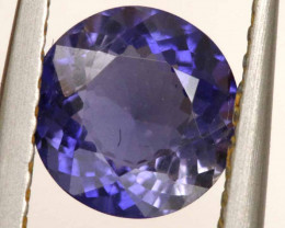 0.81CTS -IOLITE FACETED GEMSTONE  RJA-901