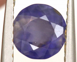 0.87CTS -IOLITE FACETED GEMSTONE  RJA-902