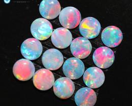 2.08Cts Parcel Australian Coober Pedy Opal Fire CH333
