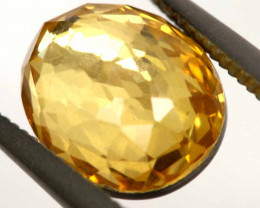 3.95CTS - CITRINE  DOUBLED FACETED  RJA-953