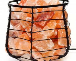 5kg Himalayan Salt Chunks Capsule Lamp (12V-12W)