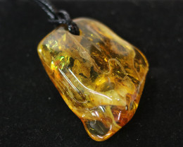 69.6 Cts Natural  Baltic Amber Necklace NA32