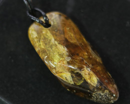 87.4 Cts Natural  Baltic Amber Necklace NA41