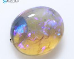2.5Cts Australian Black Opal Crystal  CH365