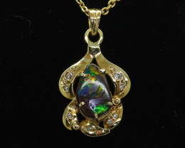 Solid Opal Pendants