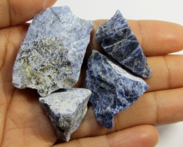 20 CTS SODALITE ROUGH 4 PIECES TW 1334